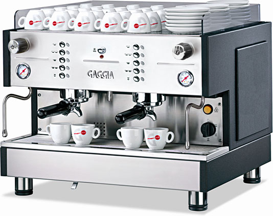 gaggia xd evolution gaggia coffee machines from watermark coffee technology. Black Bedroom Furniture Sets. Home Design Ideas