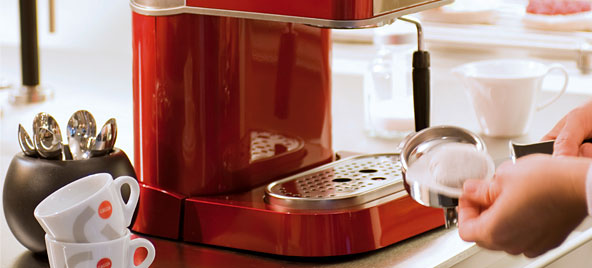 gaggia new baby dose gaggia coffee machines from. Black Bedroom Furniture Sets. Home Design Ideas